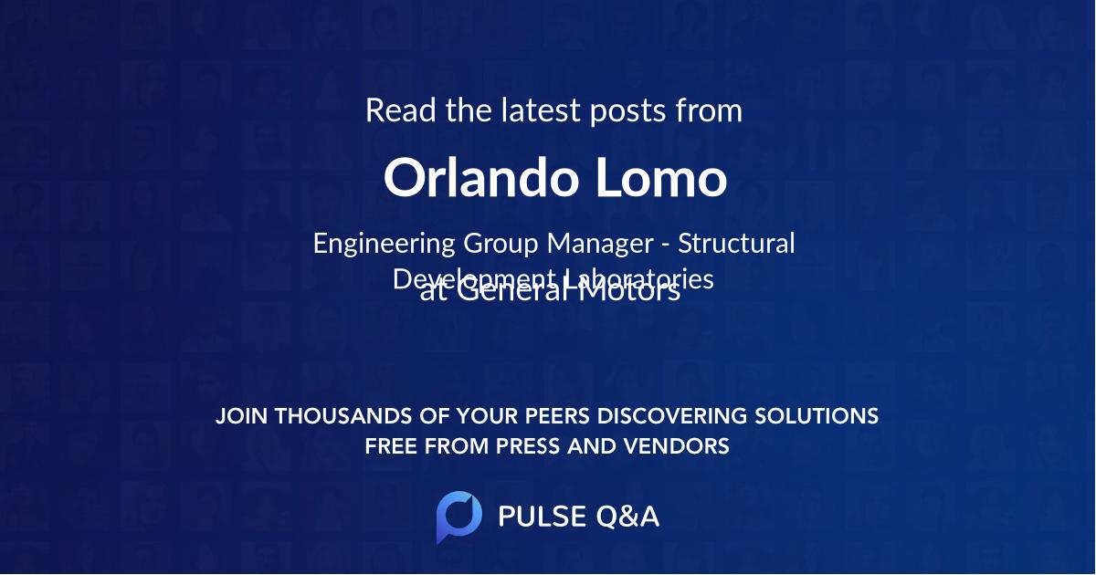 Orlando Lomo