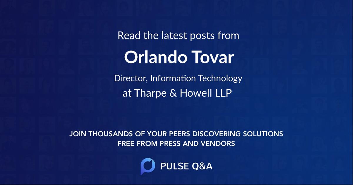 Orlando Tovar