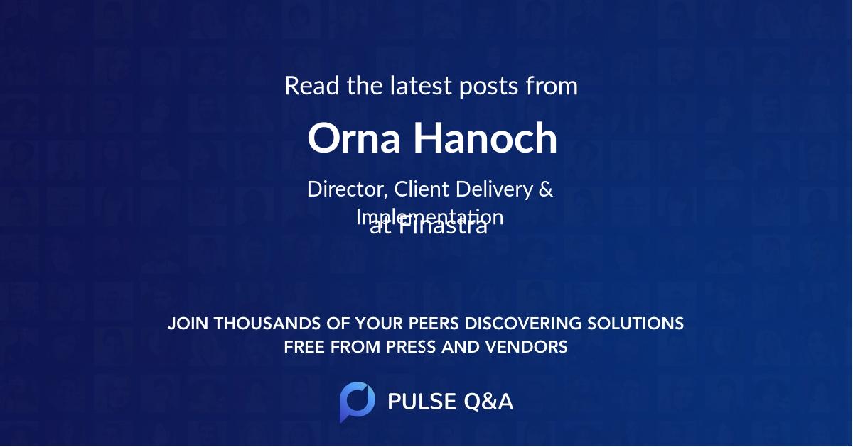 Orna Hanoch
