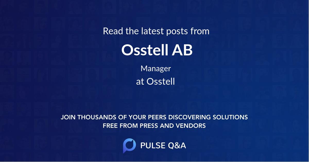 Osstell AB