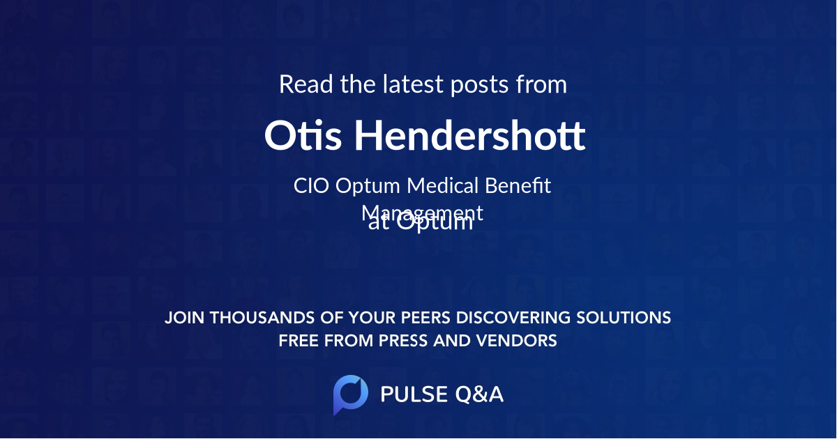 Otis Hendershott