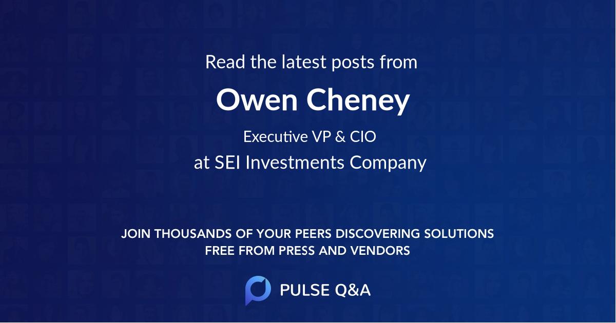 Owen Cheney