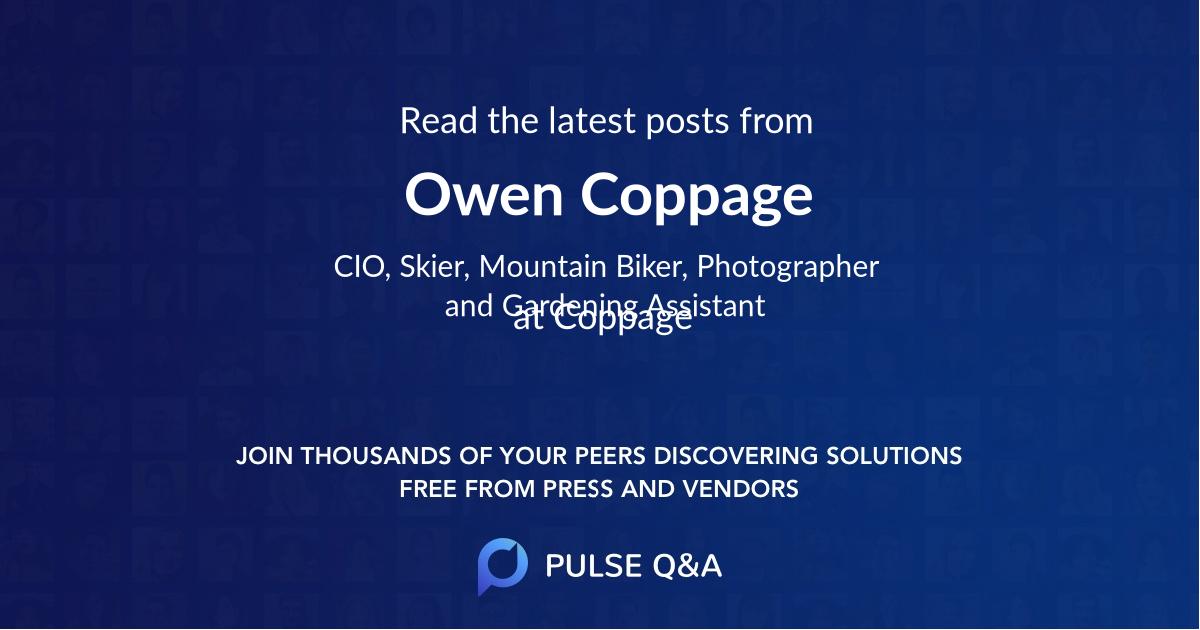 Owen Coppage