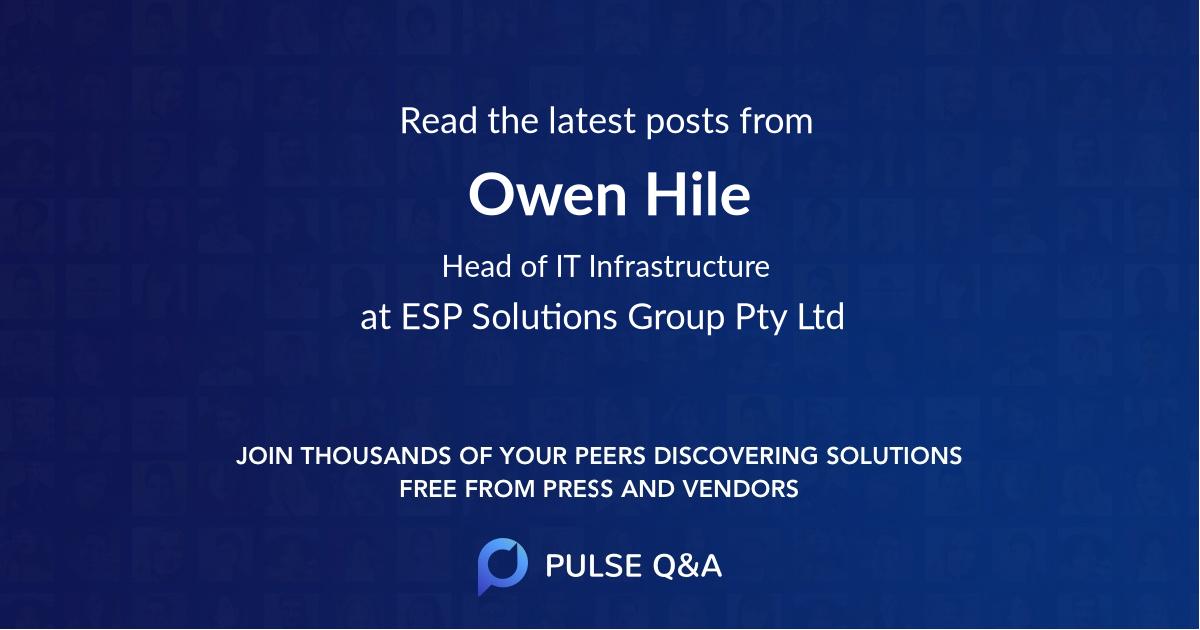 Owen Hile