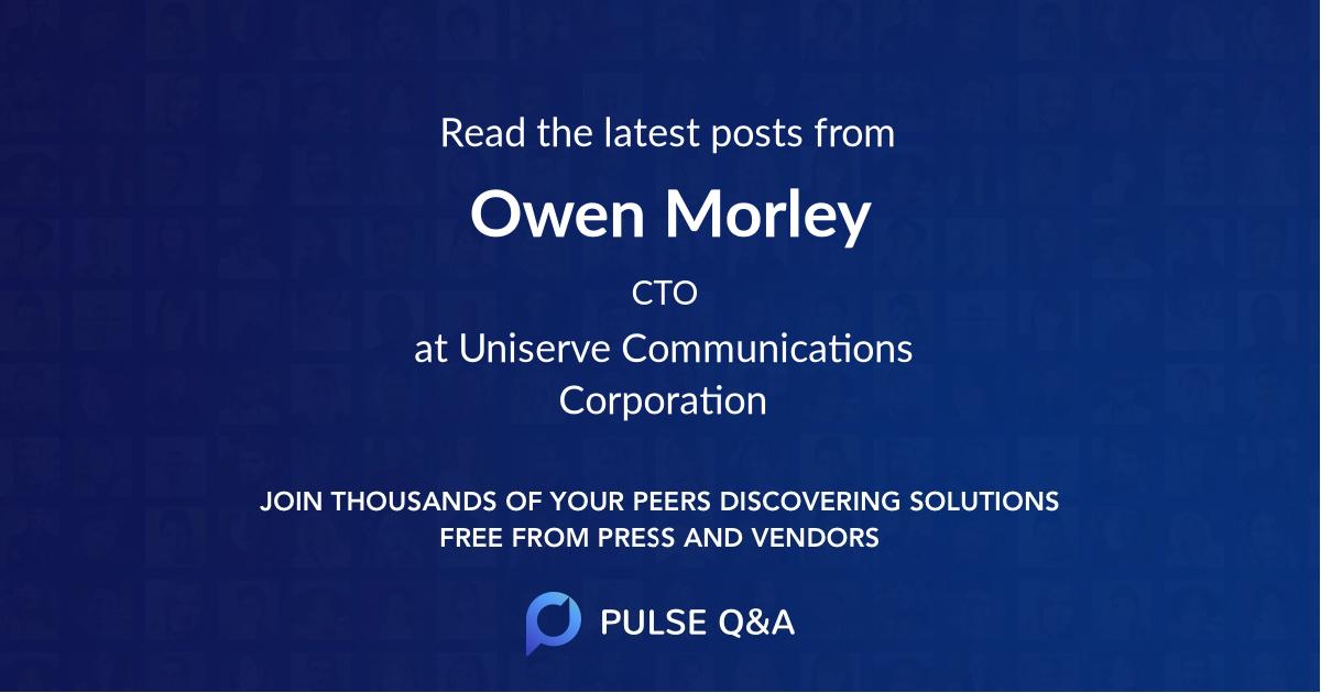 Owen Morley