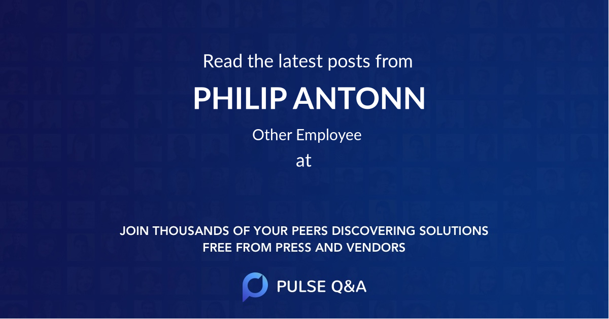 PHILIP ANTONN