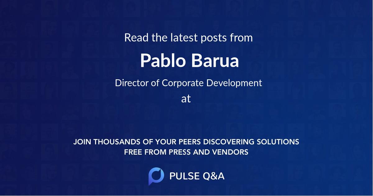 Pablo Barua