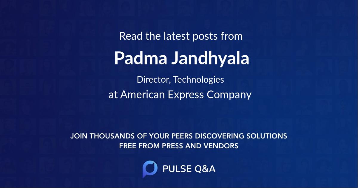 Padma Jandhyala
