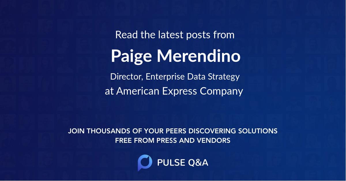 Paige Merendino