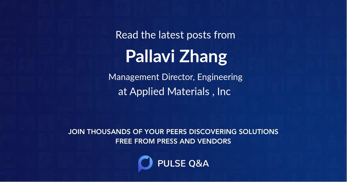 Pallavi Zhang