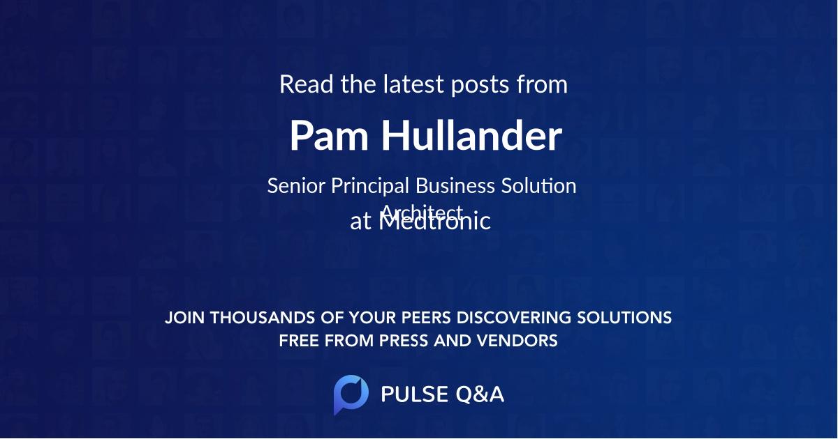 Pam Hullander