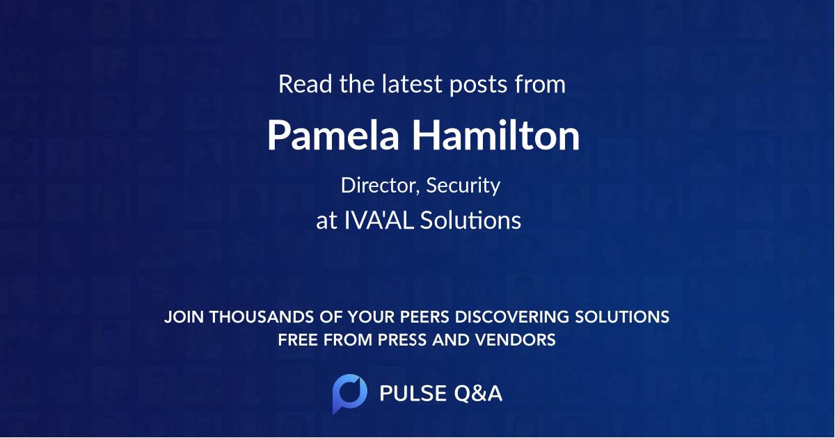 Pamela Hamilton