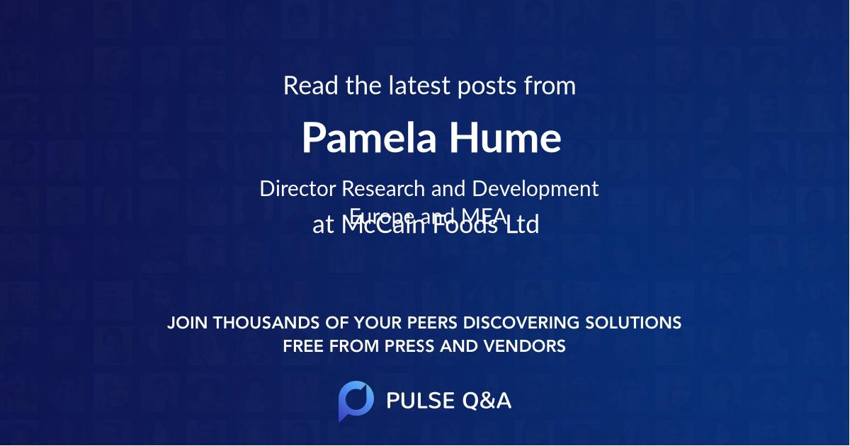 Pamela Hume