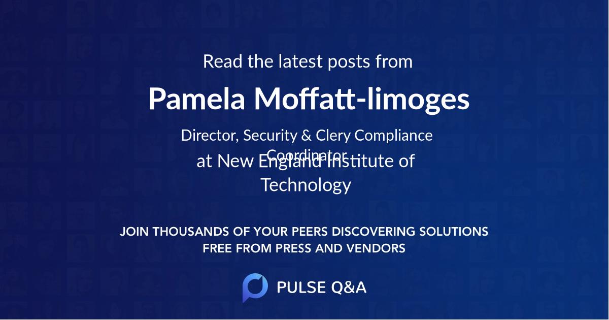 Pamela Moffatt-limoges