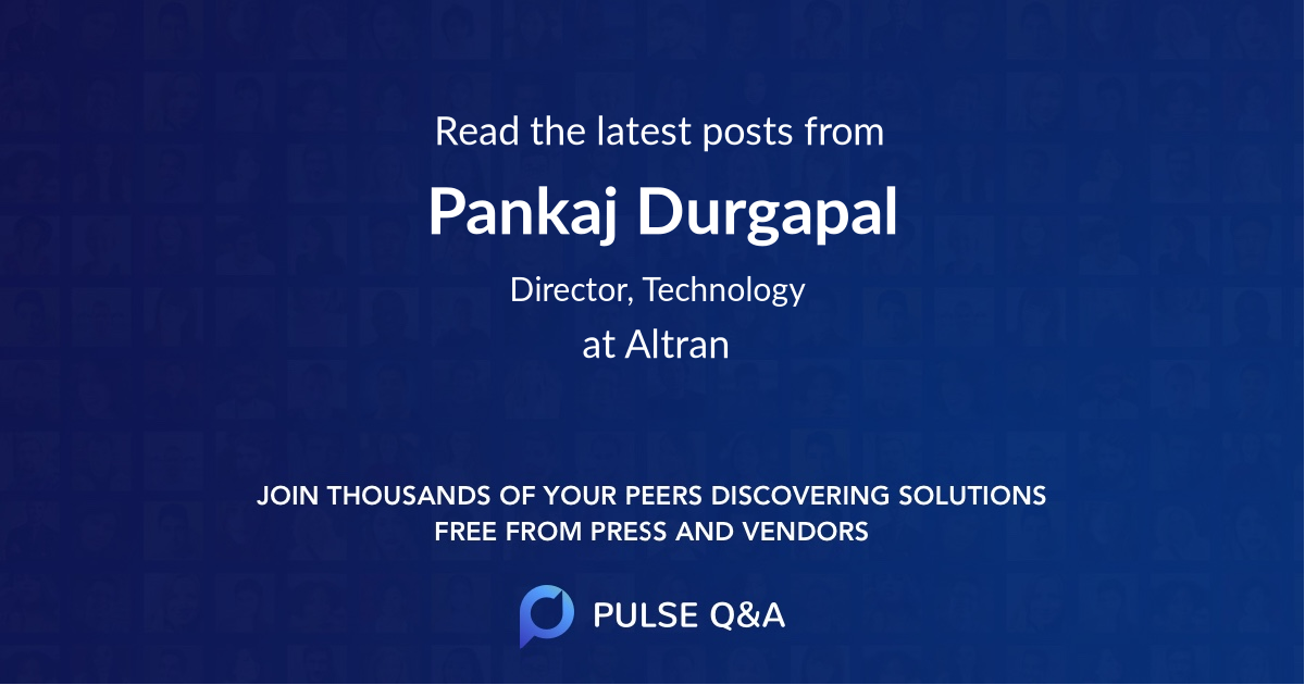 Pankaj Durgapal