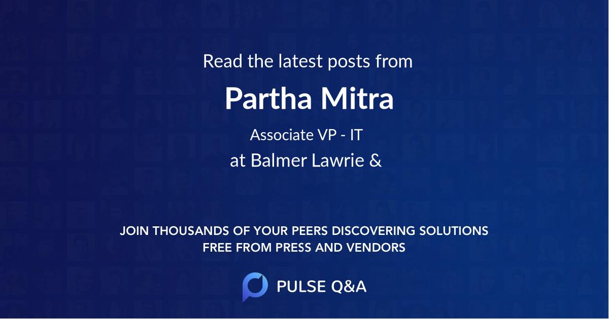 Partha Mitra