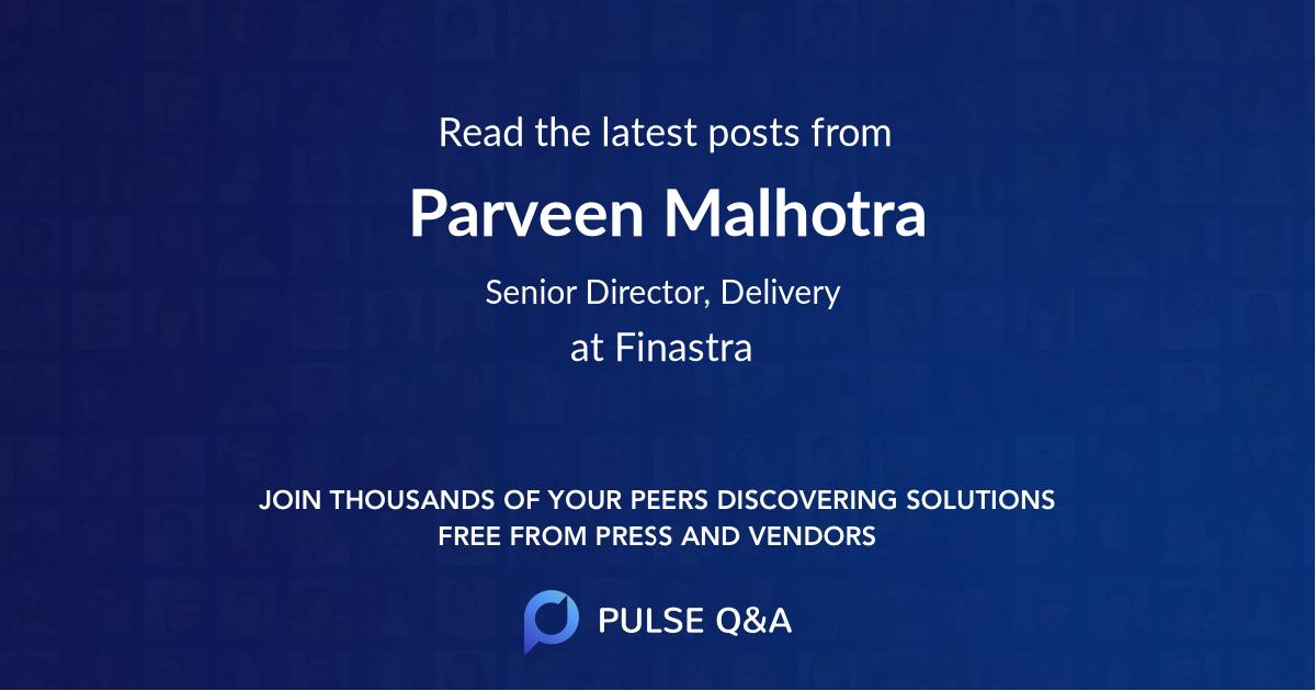 Parveen Malhotra