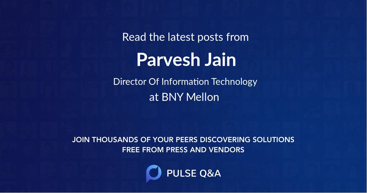 Parvesh Jain