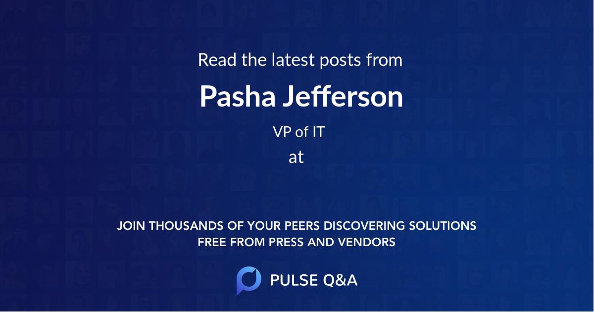 Pasha Jefferson