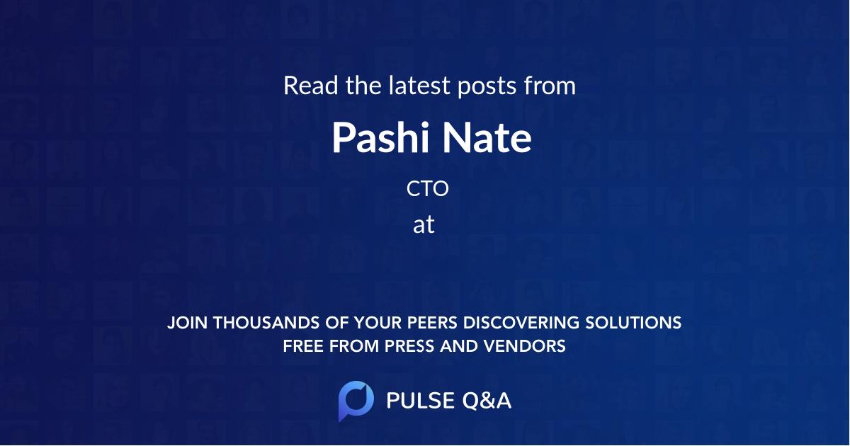 Pashi Nate