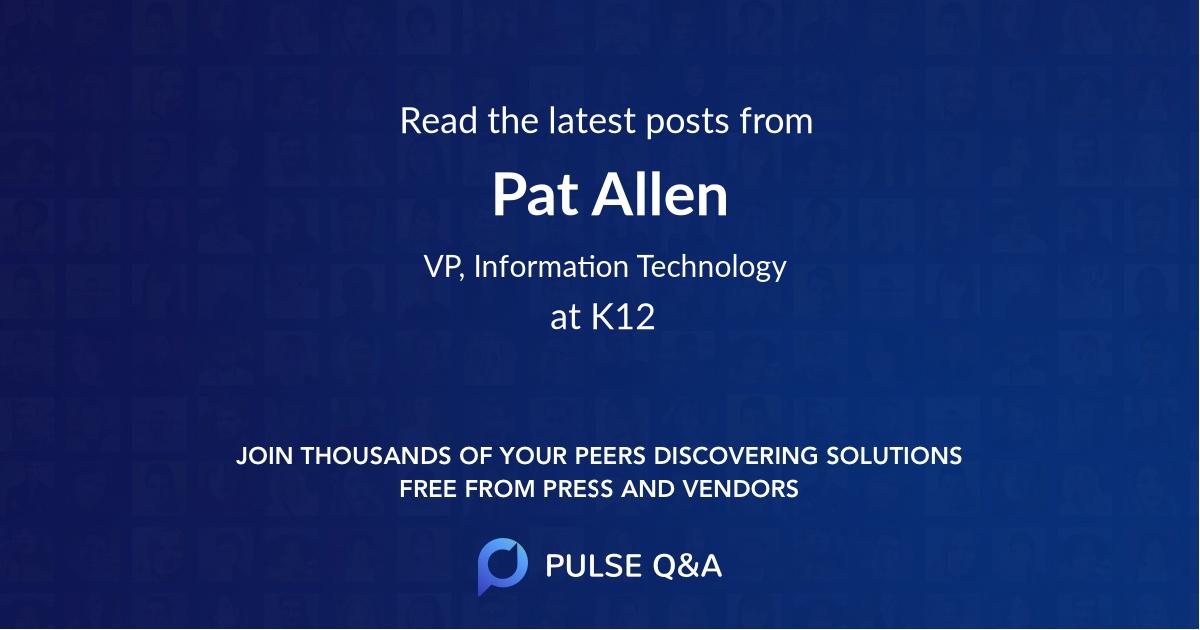 Pat Allen