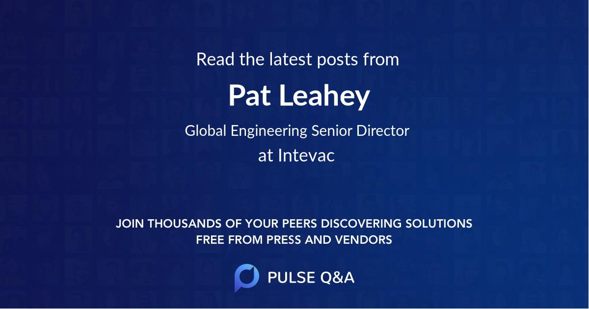 Pat Leahey