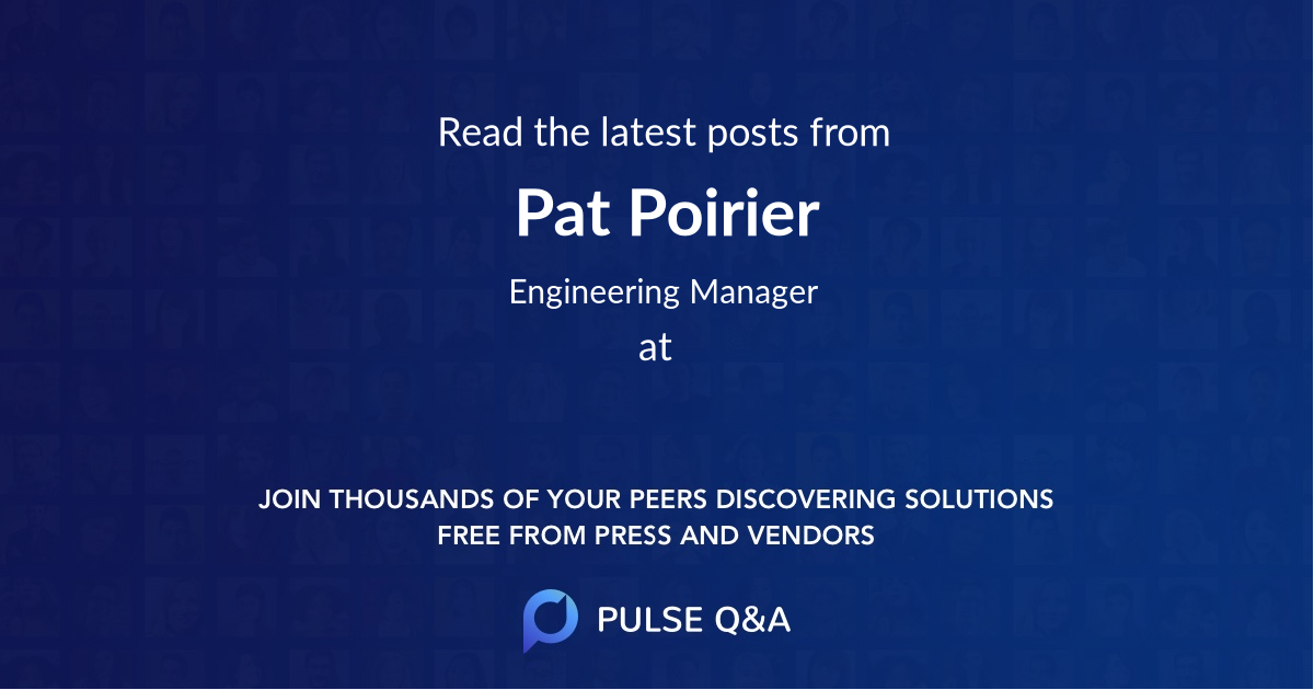 Pat Poirier