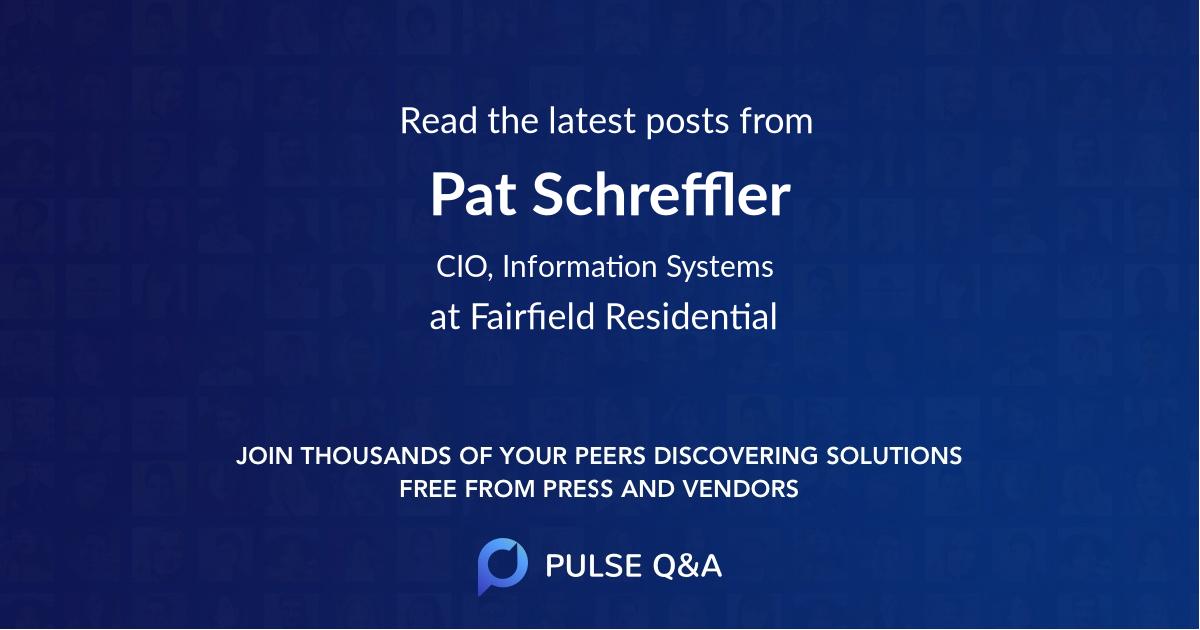 Pat Schreffler