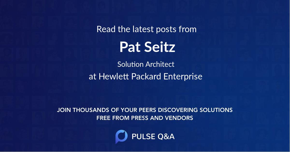 Pat Seitz