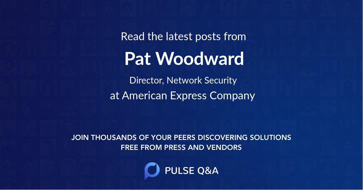 Pat Woodward