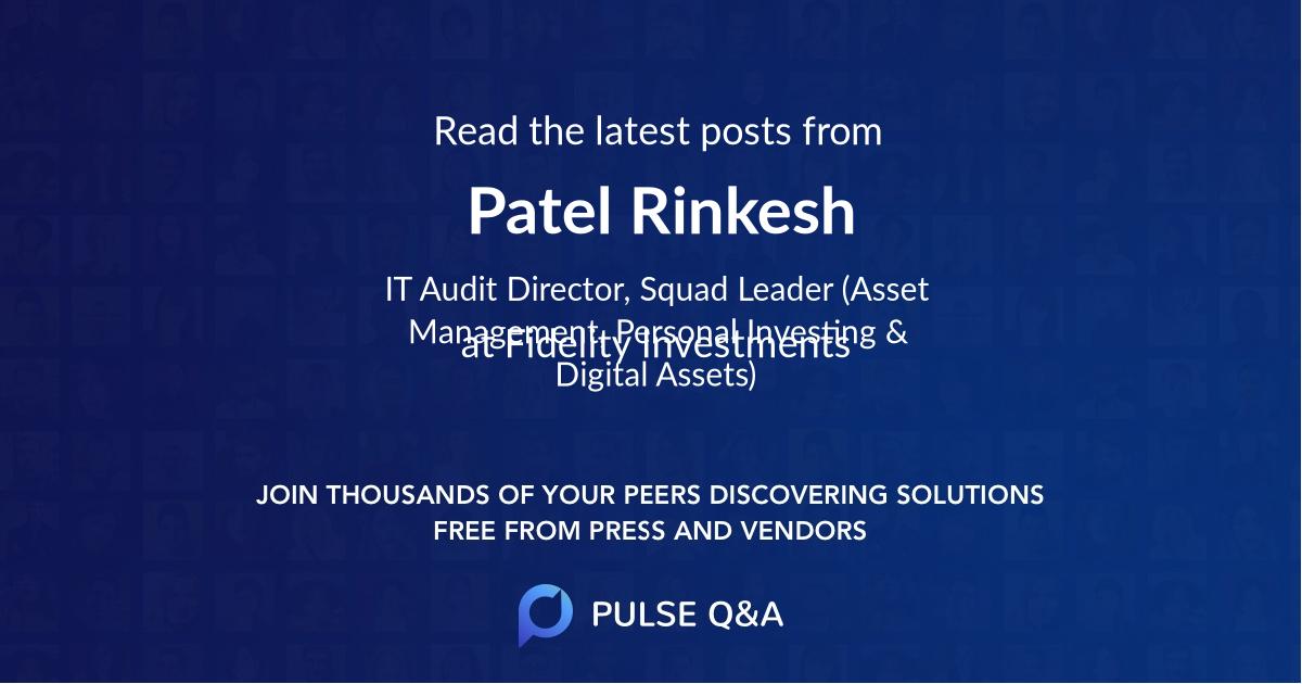Patel Rinkesh