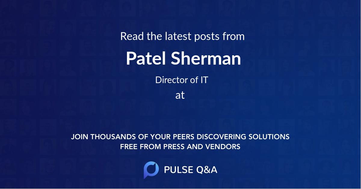 Patel Sherman