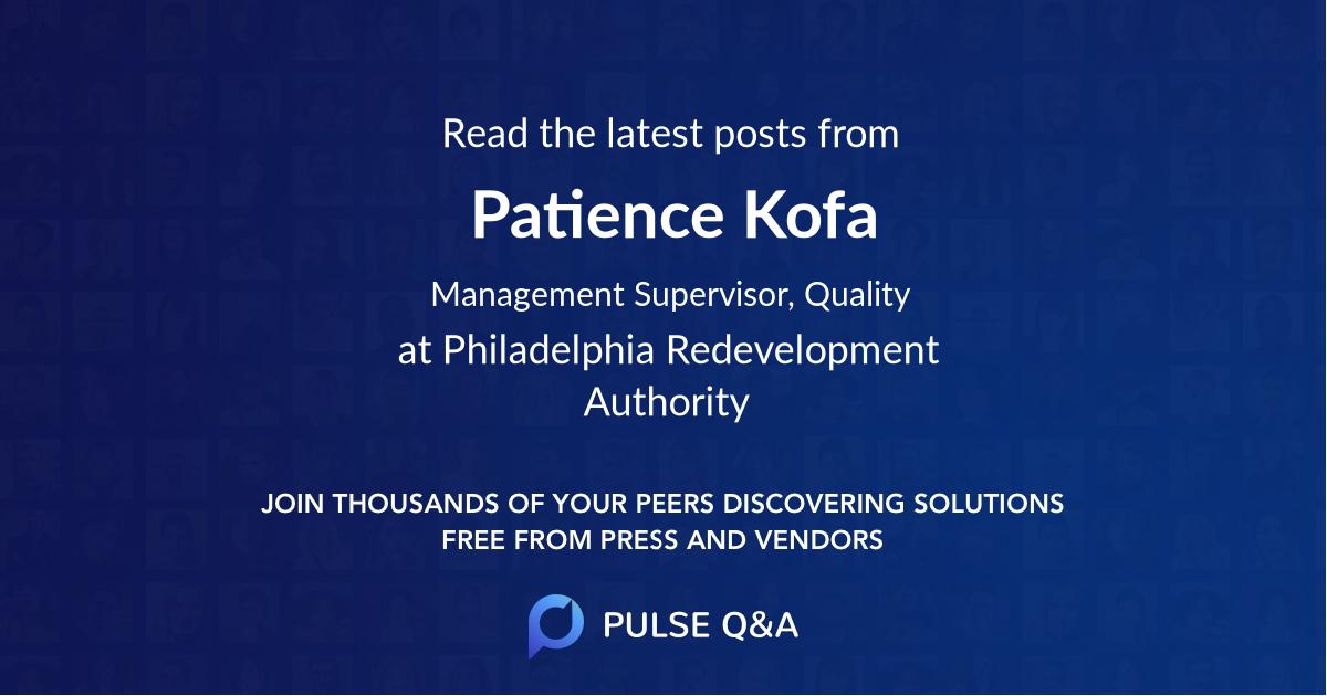 Patience Kofa