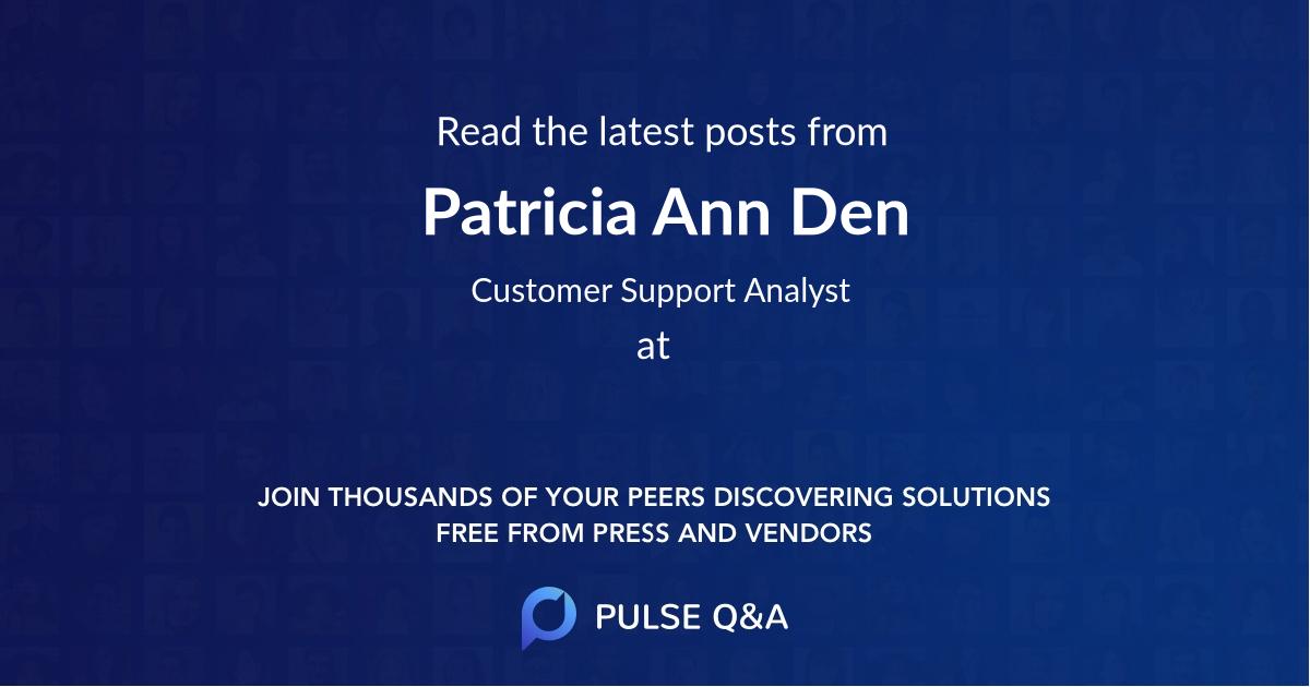 Patricia Ann Den