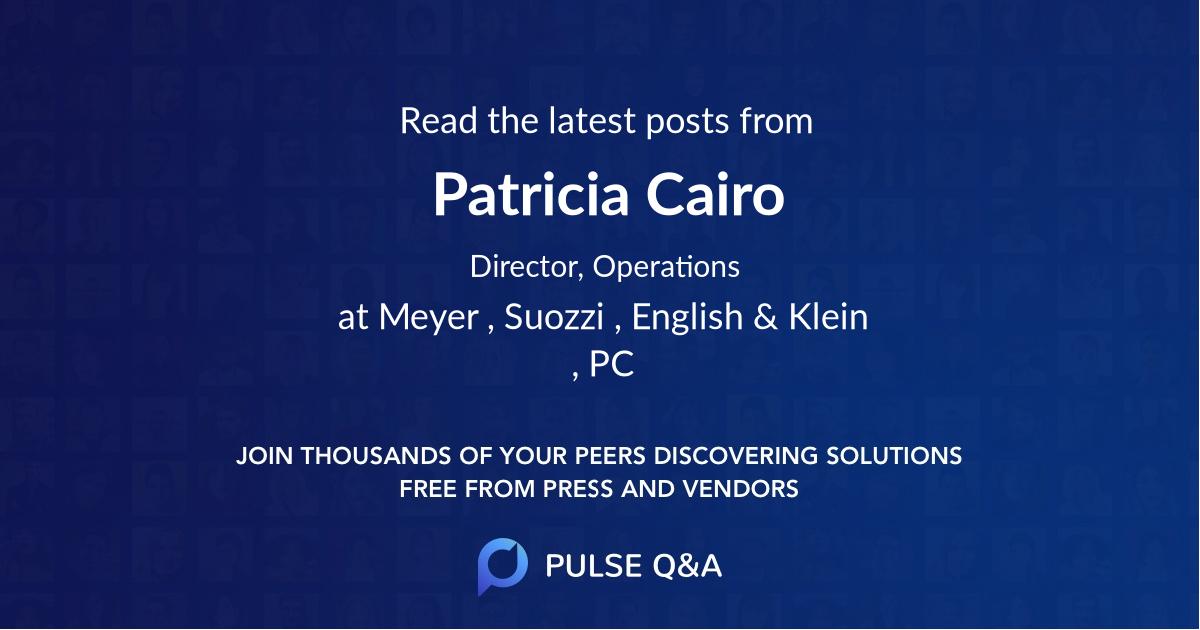 Patricia Cairo