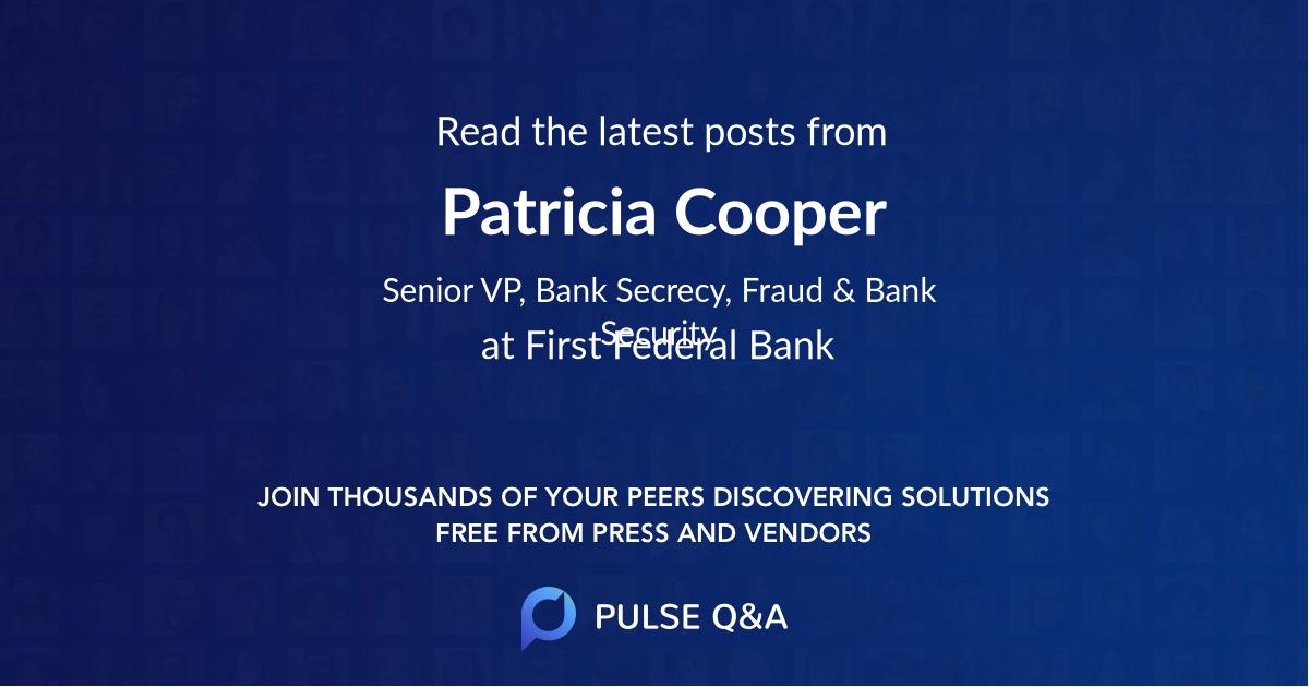 Patricia Cooper