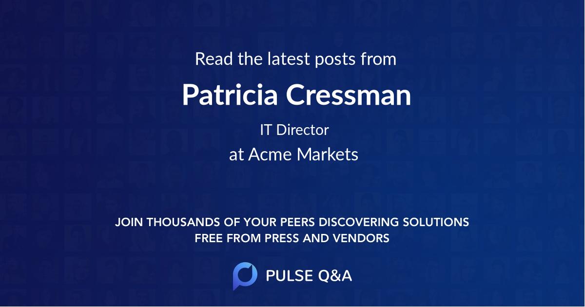 Patricia Cressman