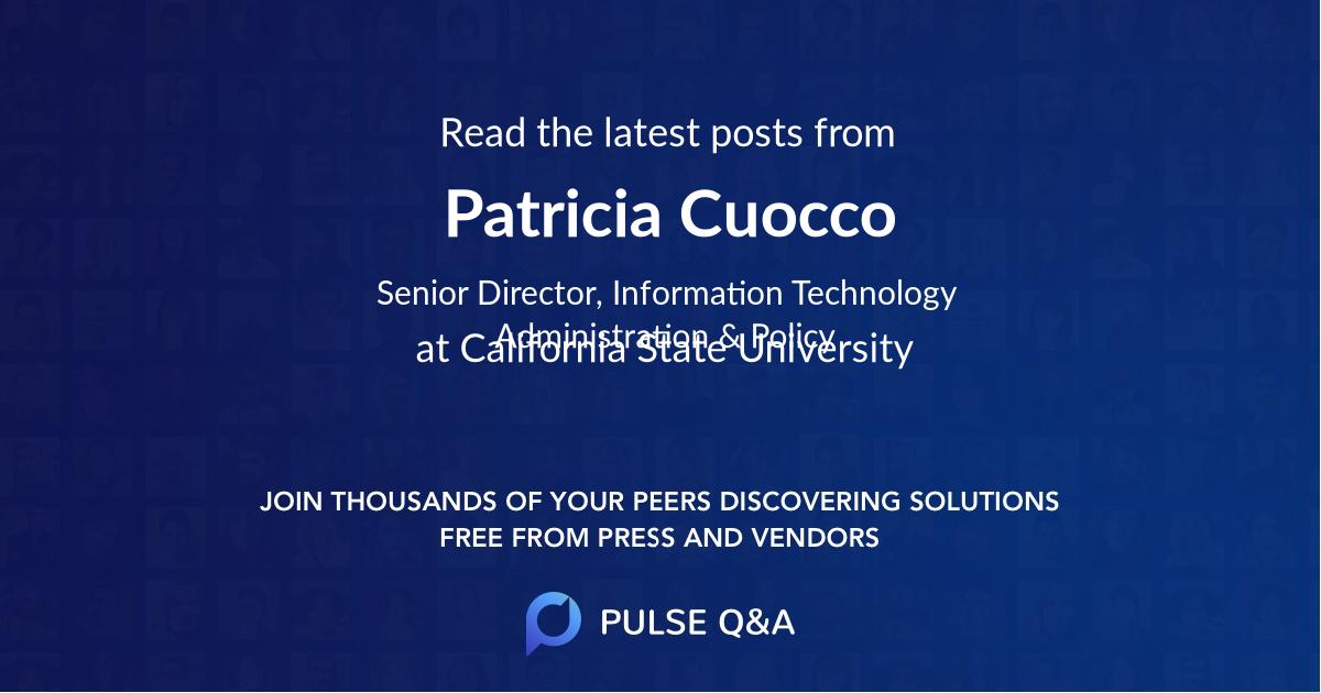 Patricia Cuocco