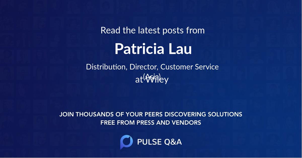 Patricia Lau
