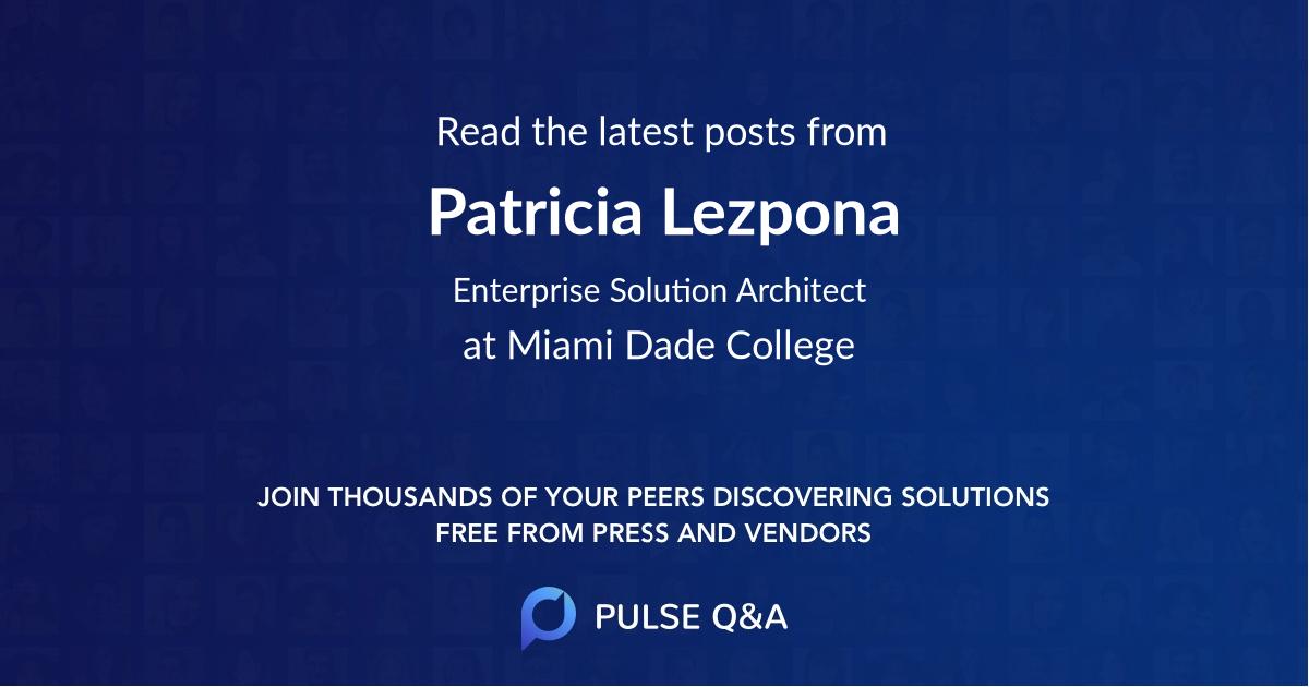 Patricia Lezpona