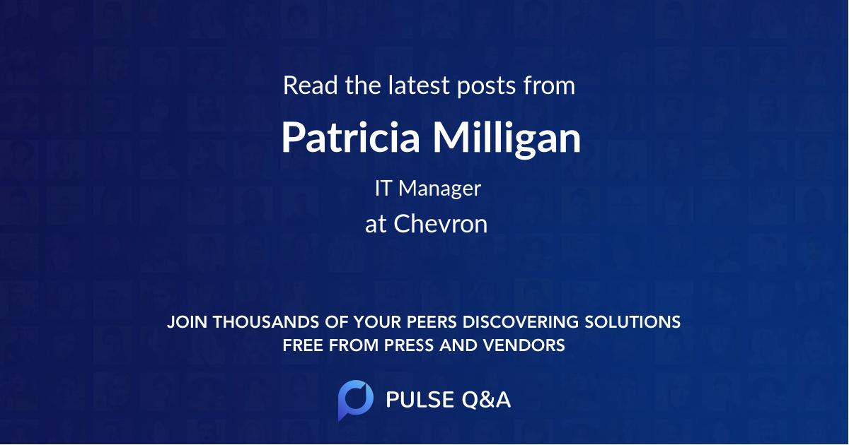 Patricia Milligan