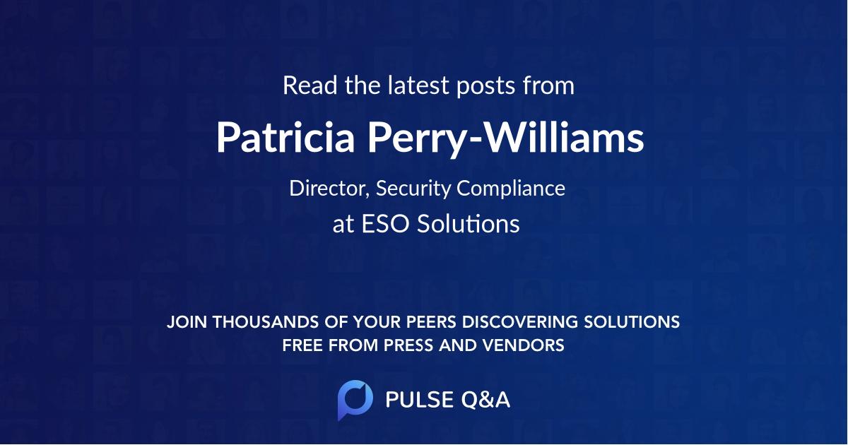 Patricia Perry-Williams