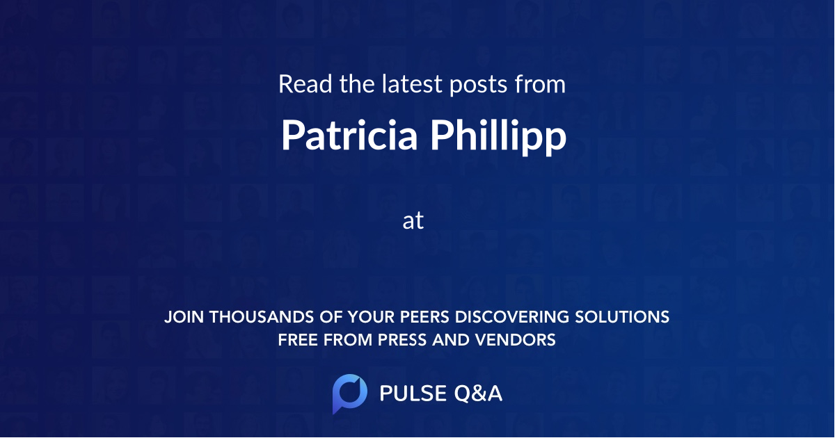 Patricia Phillipp