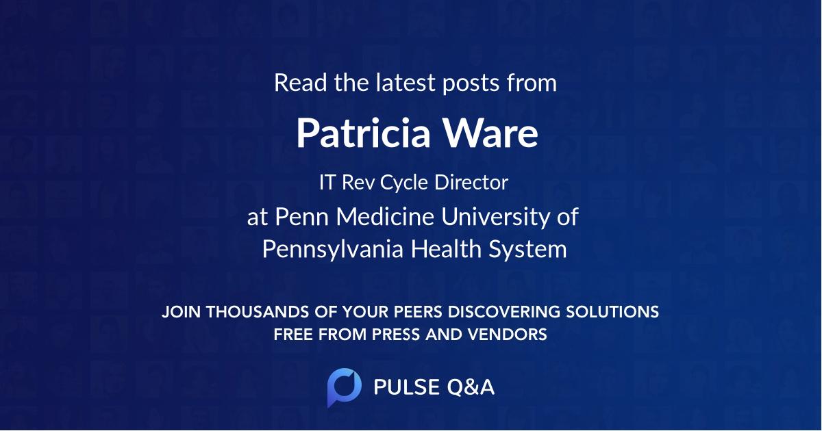 Patricia Ware