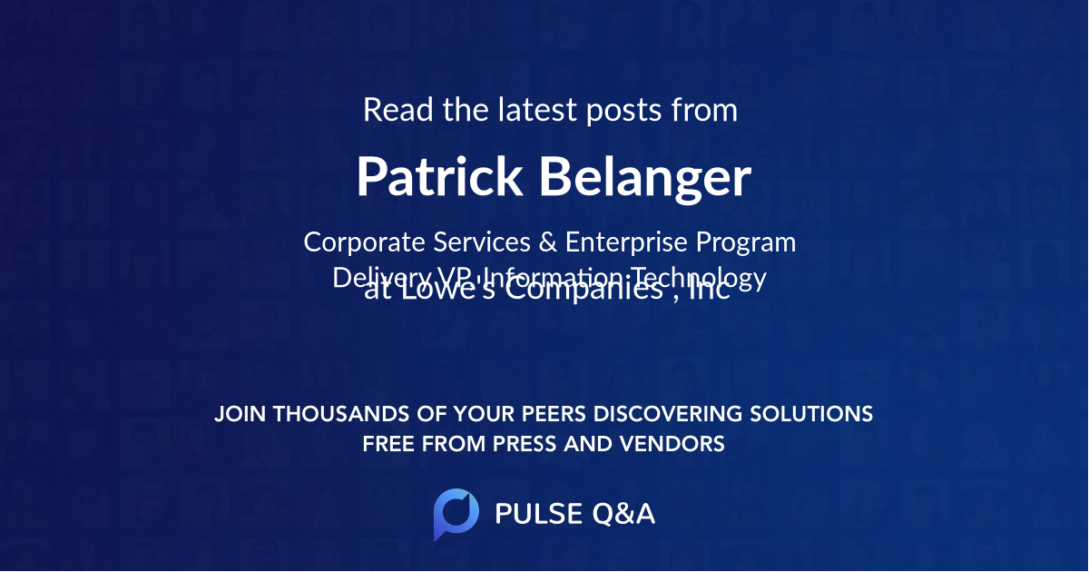 Patrick Belanger