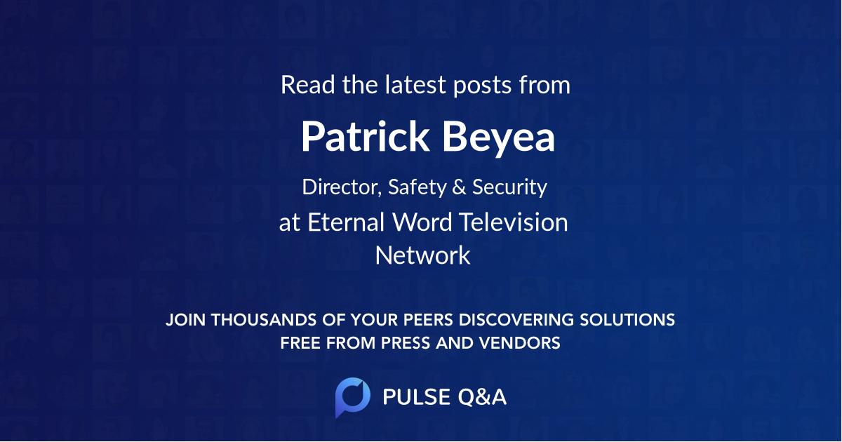Patrick Beyea