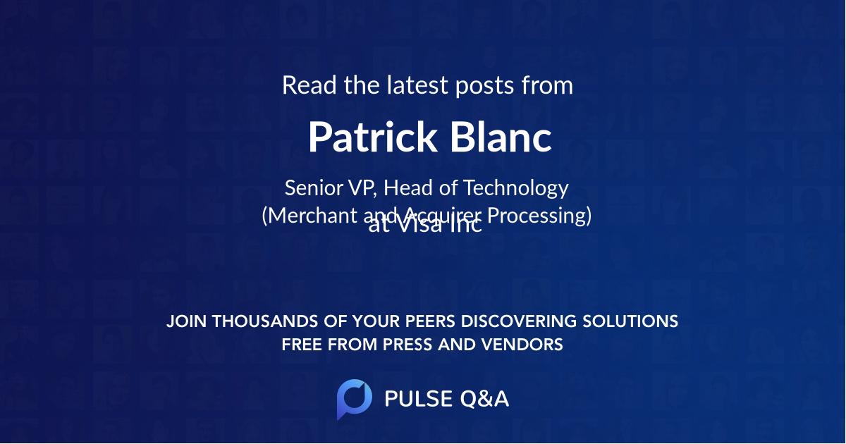 Patrick Blanc