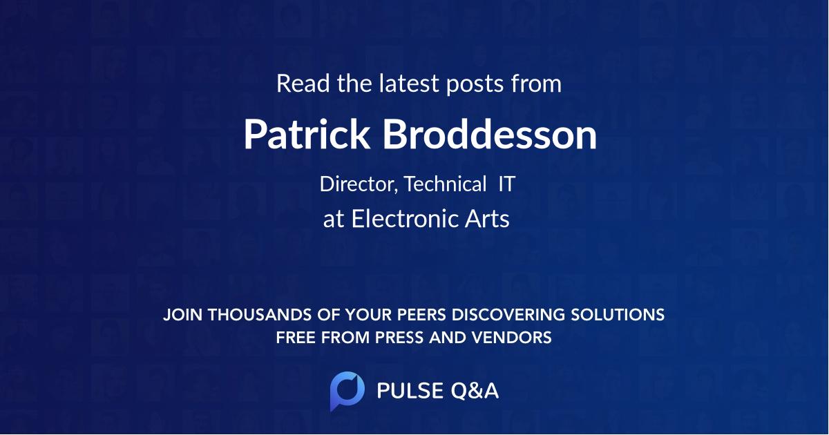 Patrick Broddesson