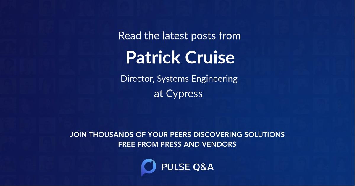 Patrick Cruise