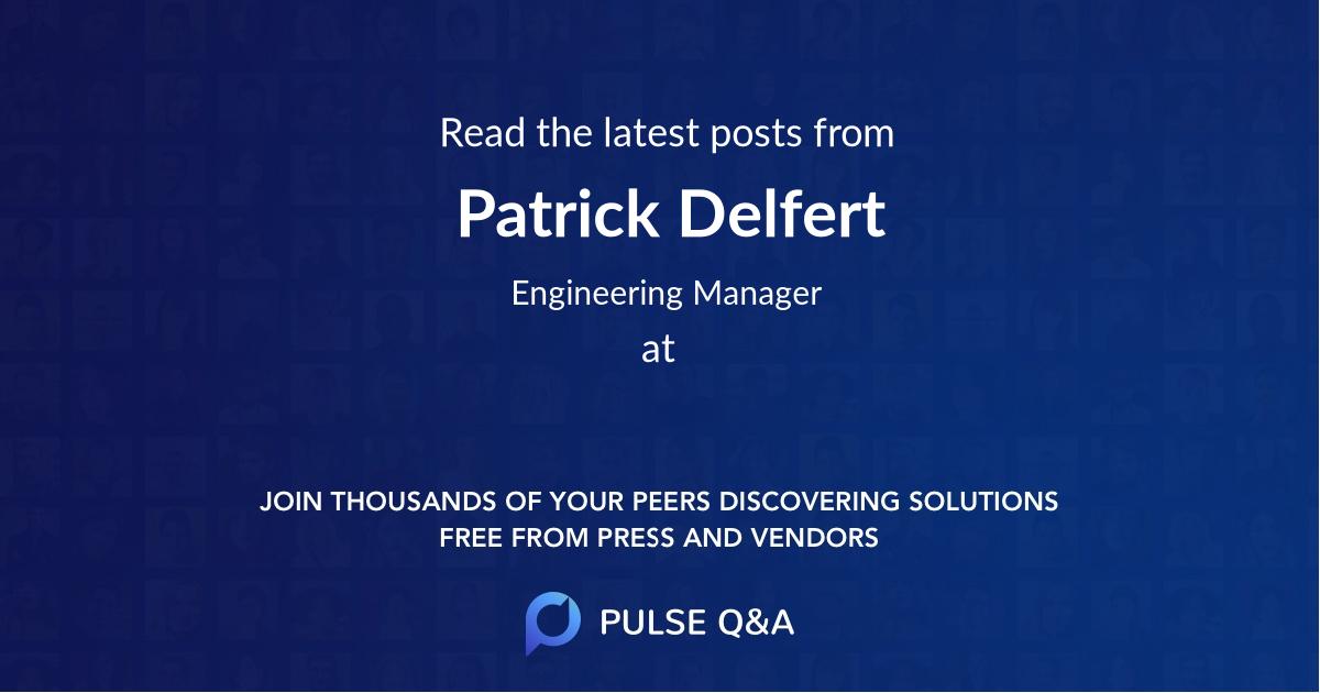 Patrick Delfert